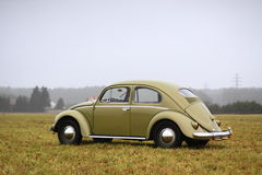 Vw beetle 1957. Retro Vw beetle 1957 r stock image