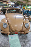 Vw Beetle. From Second War in Sinsheim Museum Royalty Free Stock Images