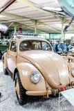Vw Beetle from Second War. In Sinsheim Museum Stock Photos
