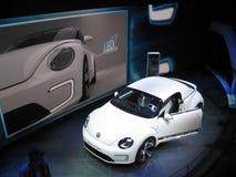 VW Beetle Speedster. 82nd Geneva Motorshow, 2011 Stock Photography