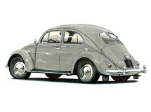 VW Beetle Split Oval royalty free illustration