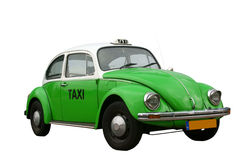 VW beetle taxi Royalty Free Stock Photos