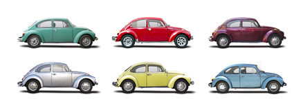 VW Beetles Stock Image