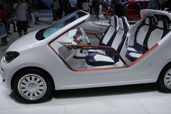 VW-Buggy auf 64. IAA Lizenzfreies Stockbild