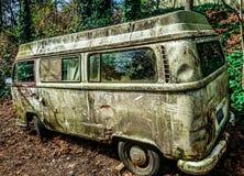 VW-Bus stock afbeelding