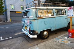 VW Bus Royalty Free Stock Images