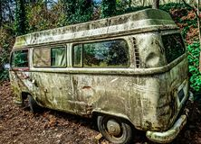 Vw-buss fotografering för bildbyråer
