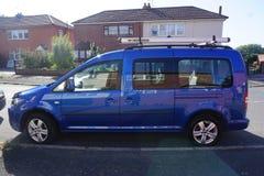 VW Caddy Στοκ εικόνα με δικαίωμα ελεύθερης χρήσης