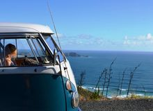 Vw camper Royalty Free Stock Photo