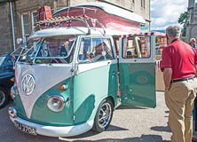 VW camper van Royalty Free Stock Photography