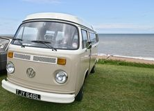 VW Camper Van Stock Images