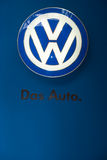 VW car logo, Stock Photo