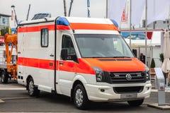 VW Crafter Ambulance Van Stock Photos