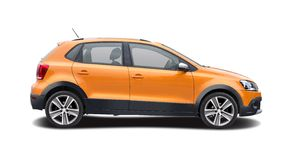 VW Cross Polo Stock Image