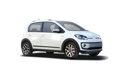 VW Cross Up Stock Photo