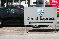 VW Direkt Express Royalty Free Stock Photo