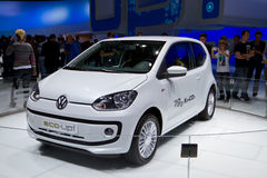 VW eco up. At the IAA 2011 in Frankfurt Royalty Free Stock Images