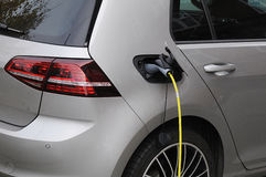 VW ELECTRIC VEHICLE Royalty Free Stock Photos