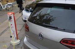 VW-ELKRAFTMEDEL Royaltyfri Foto