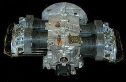 VW Engine Motor. This a Volkswagen dual port engine longblock, built with all new parts Stock Images