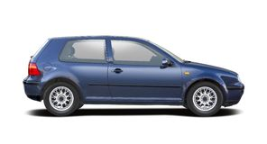 VW GOLF imagens de stock