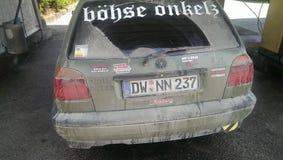 VW GOLF Image libre de droits