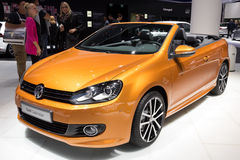 VW Golf Cabrio Royalty Free Stock Photography