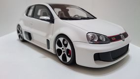 Vw Golf GTI W12 650 Hp prototype Royalty Free Stock Image