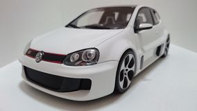 Vw Golf GTI W12 650 Hp prototype Royalty Free Stock Photography