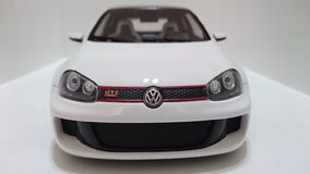 VW-Golf GTI W12 650-Pferdestärken-Prototyp lizenzfreies stockbild