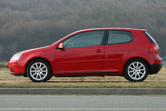 VW golf V 2.0 tdi Royalty Free Stock Photos