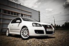 VW gti γκολφ Στοκ Φωτογραφία