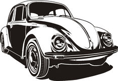 VW hören ab Stockbild