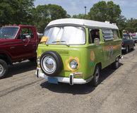 1968 VW Hippie Camper Special Van Stock Images
