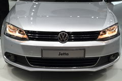 VW Jetta. Useful to be used in illustration purposes in magazines, journals and newspapers Royalty Free Stock Photo