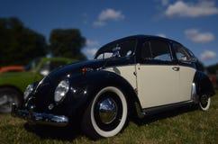 VW-Käfer vom zweiten Krieg in SinsHeim-Museum Lizenzfreies Stockfoto