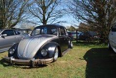 VW-Käfer vom zweiten Krieg in SinsHeim-Museum stockfoto