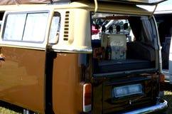 VW-kampeerauto Stock Foto