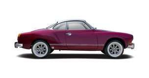 VW Karmann Ghia royalty free stock images