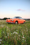 Vw Karmann Gia 70. Retro Vw Karmann Gia 70 royalty free stock photography