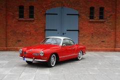 Vw Karmann Gia 70. Retro Vw Karmann Gia 70 stock image