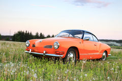 Vw Karmann Gia 70. Retro Vw Karmann Gia 70 royalty free stock photos