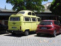 Kombi vehicle conversion royalty free stock photos