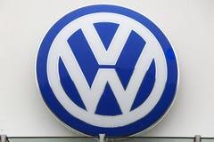 VW Logo Royalty Free Stock Photography
