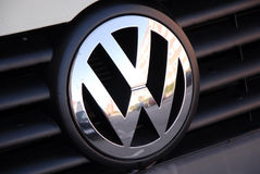 VW MADE IN GERMANY IN DEEP TROUBLE Stock Photography