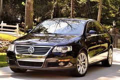 VW Passat. The Volkswagen passat shining with chrome Stock Photography