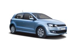VW Polo Royalty Free Stock Photos