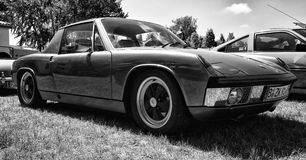 VW-Porsche 914 - a mid-engined, targa-topped two-seat roadster Stock Photos