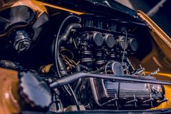 VW-RAD-REIFEN-NUSS TURBO lizenzfreie stockbilder