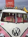 VW rosada fotos de archivo